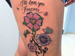 dagger beautiful thigh tattoos meaning design idea for