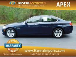 bmw 2013 5 series price 2013 bmw 5 series 528i xdrive bmw dealer in raleigh nc used