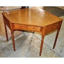 Ethan Allen Corner Cabinet by Ethan Allen Corner Desk Chairish
