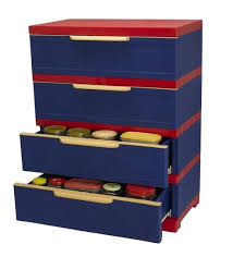 nilkamal kitchen furniture nilkamal freedom chester 14 with 4 drawers pepsi blue and bright