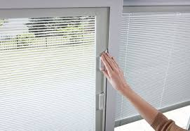Andersen Windows With Blinds Inside Silver Line V3 Series Gliding Patio Door