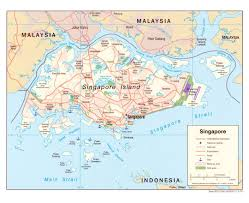 Political Map Asia by Maps Of Singapore Detailed Map Of Singapore In English Tourist