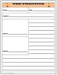 newspaper article templates for multiple subjects common core by