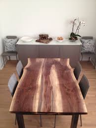 Raw Edge Table by Solid Wood Salvaged And Reclaimed Raw Edge Tables By Urban Tree