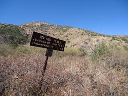 Mt Lemmon Hiking Trails Map Canada Del Oro Trail Sirena U0027s Wanderings