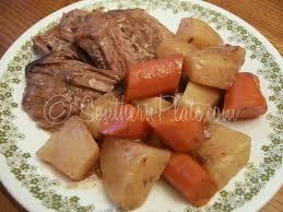 tender roast and veggies u2013 we u0027re movin u0027 on up southern plate