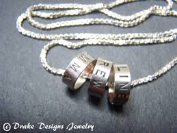 Necklace With Children S Names Three 3 Name Necklace With Kids Names Mother U0027s Necklace With