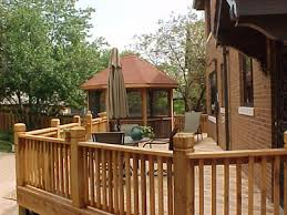 chesterfield fence u0026 deck company cedar decking