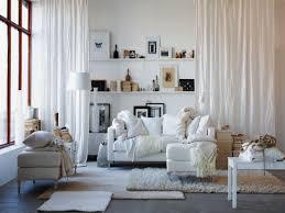 living room chic living room decor white sofa table throw