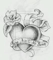 name hearts design tattoobite com ink