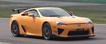 lexus sport car lfa watch and listen as a lexus lf a tears up the track at monza
