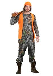 Plus Size Camouflage Clothing Camo Hunter Costume For Plus Size Men