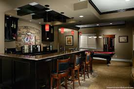 basement bar from kitchen cabinets home bar design bar