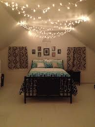 black bedroom light fixtures teenage bedroom black white and teal with christmas lights and one