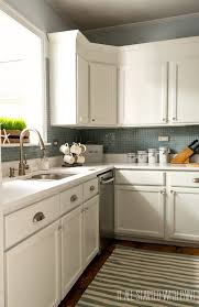 Kitchen No Backsplash Kitchen Kitchen Sink With No Backsplash Diy Without Tiles