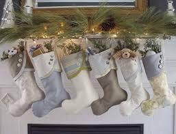 Christmas Stocking Ideas by 30 Stunning Christmas Stocking Ideas For Stylish Interiors