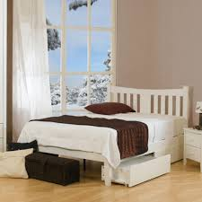 White Small Double Bed Frame by Dreams Kingfisher Bed Small Double Size White
