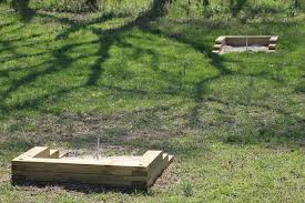 build a horseshoe pit in your backyard