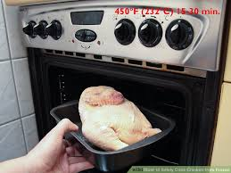 Cooking Chicken Breast In Toaster Oven 3 Ways To Safely Cook Chicken From Frozen Wikihow