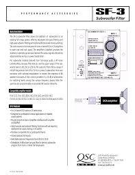 download free pdf for qsc dca 1222 amp manual