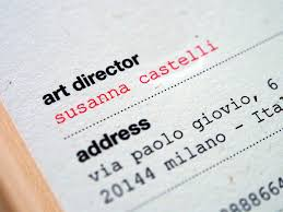 Recycle Paper Business Cards Susanna Castelli