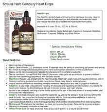 strauss heart drops strauss heart drops healthy choices