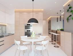 modern eat in kitchen 2 one bedroom apartments with modern color schemes