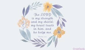 free psalm 28 7 ecard email free personalized comfort