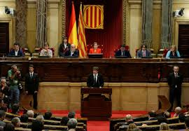 catalan leader signs document declaring independence from spain