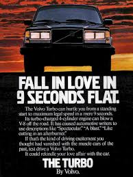 volvo commercial 44 of the most bodacious car ads of the 1980s u2013 feature u2013 car and