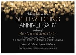 50th anniversary ideas 5 ideas 50th wedding anniversary invitation