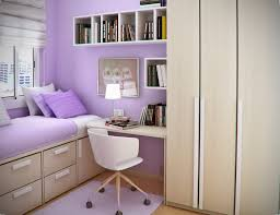 Small Bedroom Queen Size Bed Bedroom Fancy Space Saving Beds Wooden Cupboard Purple Rug White