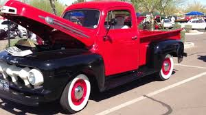 Classic Ford Truck Glass - 1952 ford pick up truck youtube