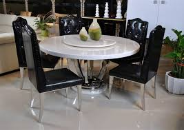 Marble Dining Room Tables Dining Tables Awesome Round Marble Dining Table White Marble Top