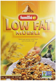 amazon com familia low fat muesli cereal 21 ounce boxes pack of