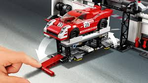 lego speed champions ferrari lego 75876 speed champions porsche 919 hybrid and 917k pit lane
