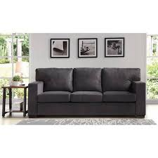 Charcoal Sofa Bed Better Homes And Gardens Oxford Square Sofa Charcoal Walmart Com