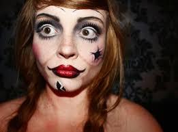 annabelle horror makeup makeupartist facepaint mua