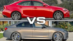 lexus is or bmw 3 2016 lexus is 200t vs 2016 bmw 340i youtube