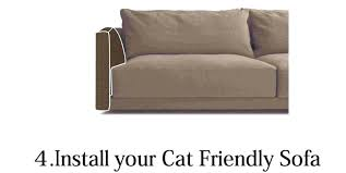 sofa that cats won t scratch amusing cat proof couch best material for cats scratched sofa repair