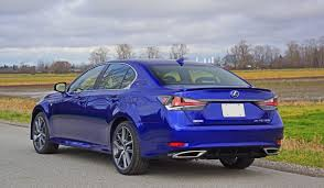 purple lexus 2016 lexus gs 350 awd f sport road test review carcostcanada