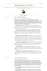 Channel Sales Manager Resume Sample by Sales U0026 Marketing Manager Resume Samples Visualcv Resume Samples