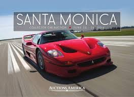 lexus of santa monica general manager 2016 santa monica collector car auction catalog auctions america