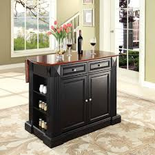 kitchen room design crosley furniture drop leaf breakfast bar