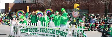 for parade 2017 grand marshal gael of the year and parade theme syracuse