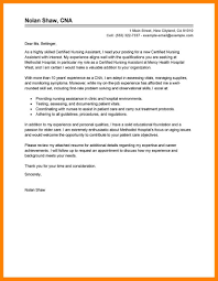 cover letter cna 100 images exle of cover letter for a resume