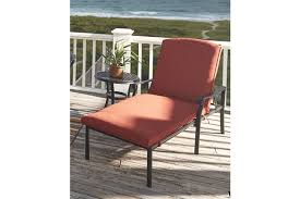 Orange Chaise Lounge Cushions Tanglevale Chaise Lounge With Cushion Ashley Furniture Homestore