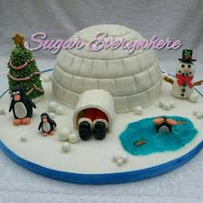 igloo cake alternative christmas cake christmas pinterest