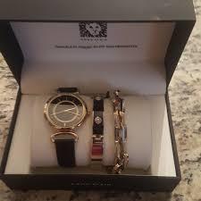 anne klein bracelet set images Anne klein accessories watch and bracelet set poshmark jpg