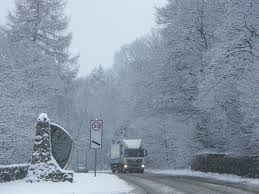 the southern entrance to pitlochry in winter pitlochry winter